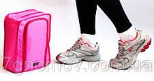Дорожный органайзер для обуви ORGANIZE C018 розовый, фото 3