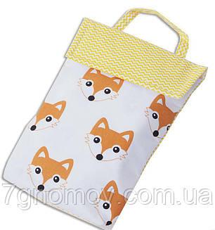 Кармашек для памперсов в сумку ORGANIZE E003 лисички, фото 2
