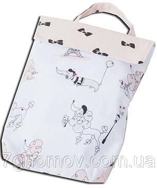 Кармашек для памперсов в сумку ORGANIZE E003 собачки, фото 2