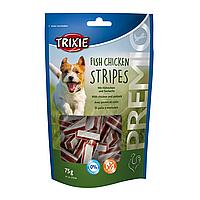 Ласощі для собак Trixie PREMIO Chicken and Pollock Stripes 75 г (курка і риба)