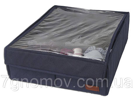 Коробочка с крышкой на 20 ячеек ORGANIZE Jns001-Kr джинс, фото 2
