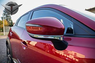Хром накладки на зеркала тюнинг Mazda CX-3