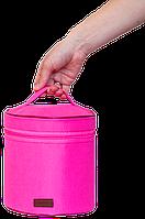 Круглый органайзер для косметики ORGANIZE K009 розовый