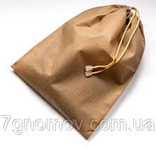 Мешок-пыльник для обуви с затяжкой ORGANIZE HO-01 бежевый, фото 3