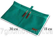 Набор дорожных сумок в чемодан 5 шт ORGANIZE P005 лазурь, фото 3