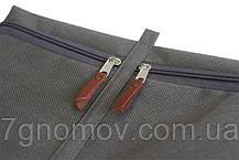 Набор дорожных сумок в чемодан ORGANIZE P005 серый, фото 2