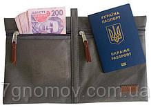Набор дорожных сумок в чемодан ORGANIZE P005 серый, фото 3