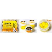 Силиконовая приманка G.STREAM желтая кукуруз/мед (12шт/уп)