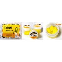 Силиконовая приманка G.STREAM желтая кукуруза/слива (12шт)