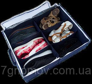 Органайзер для обуви на 6 пар ORGANIZE Jns-O-6 джинс, фото 2