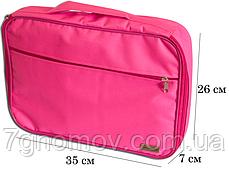 Органайзер для рубашек на 3шт для путешествий ORGANIZE C020 розовый, фото 2