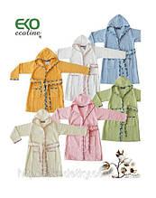 Дитячий махровий халат EKO