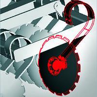 Стойка с диском 8395ДЛ-4.05.010 СБ для бороны