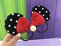 Обруч карнавальный очки Микки Маус