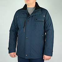 Синяя мужская куртка JUPITER  45330 р-54