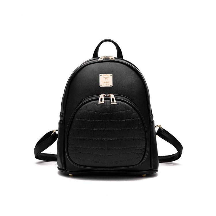 416bf0cf954b Городской рюкзак, черный с экокожи: продажа, цена в Днепре. рюкзаки ...