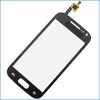 Тачскрин (сенсор) для Samsung i8160 Galaxy Ace 2, черный, оригинал