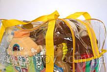Сумка в роддом/для игрушек ORGANIZE K005 желтый, фото 2