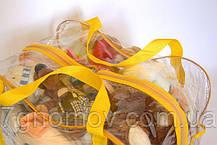 Сумка в роддом/для игрушек ORGANIZE K005 желтый, фото 3