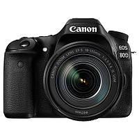 Фотоаппарат Canon EOS 80D 18-135mm IS USM WiFi Black Официальная гарантия (1263C040)