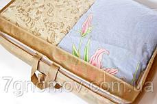 Сумка для хранения вещей\сумка для одеяла M ORGANIZE HS-M бежевый, фото 3