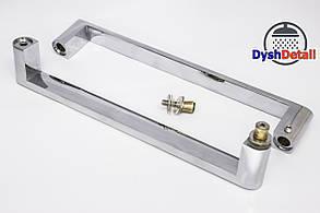 Ручка для дверей душевой кабины на два отверстия ( H-631 ) Металл, фото 3