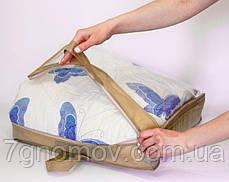 Сумка для хранения вещей\сумка для одеяла XS ORGANIZE HS-XS бежевый, фото 3