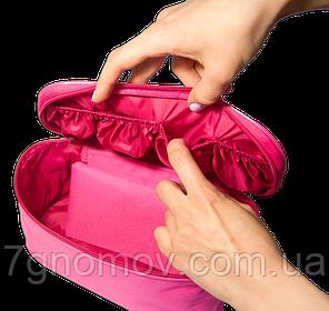 Туристический органайзер для белья ORGANIZE C001 розовый, фото 2