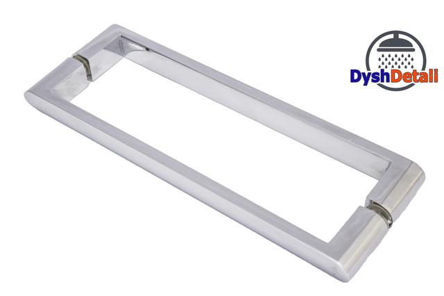 Ручка для дверей душевой кабины на два отверстия ( H-631 ) Метал