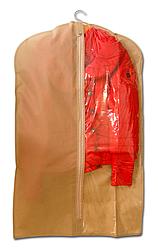 Чехол\кофр для одежды  60*100 см ORGANIZE HCh-100 бежевый