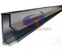 Вставка Алюминиевая L=600мм для экономпанели