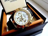 Качество! МУЖСКИЕ ЧАСЫ ROLEX с Календарем кварцевые, минеральное стекло, купить мужские наручные часы Ролекс