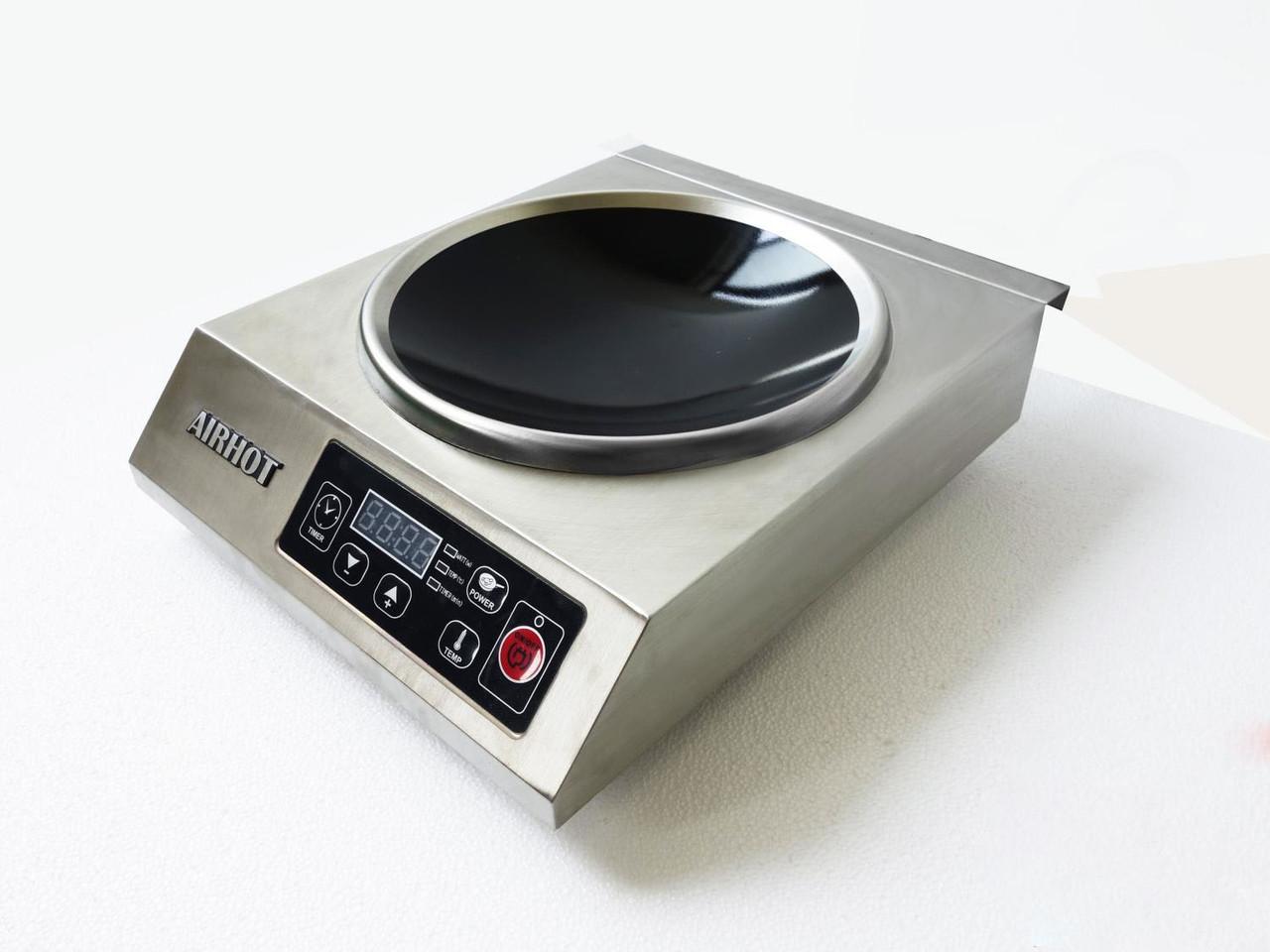 Плита вок індукційна Airhot IP3500 WOK