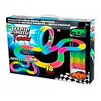 Светящийся гибкий трек Magic Tracks 366 деталей 2 машинки, фото 1