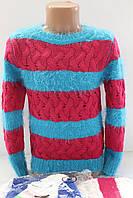 Вязаный свитерок для девочек 6 лет