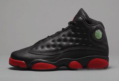 Баскетбольные кроссовки Nike Air Jordan 13 black-red - Интернет магазин  обуви Shoes-Mania cb9abbca648c4
