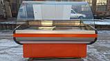Холодильная витрина Crispi 1.90 м. 1,25 м. бу., прилавок гастрономический б/у., фото 2