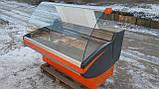Холодильная витрина Crispi 1.90 м. 1,25 м. бу., прилавок гастрономический б/у., фото 3