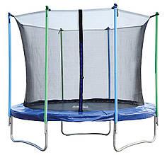 Батут Jumper 244 см с защитной сеткой (безопасная внутренняя фиксация)