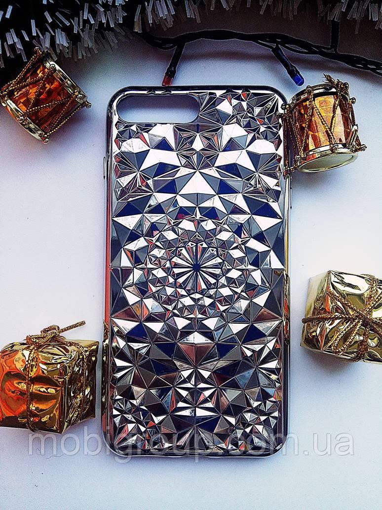 Силиконовый чехол Кристал iPhone 7 Plus