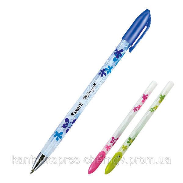 Ручка кулькова Axent Milagro AB1011-02-A, синяя