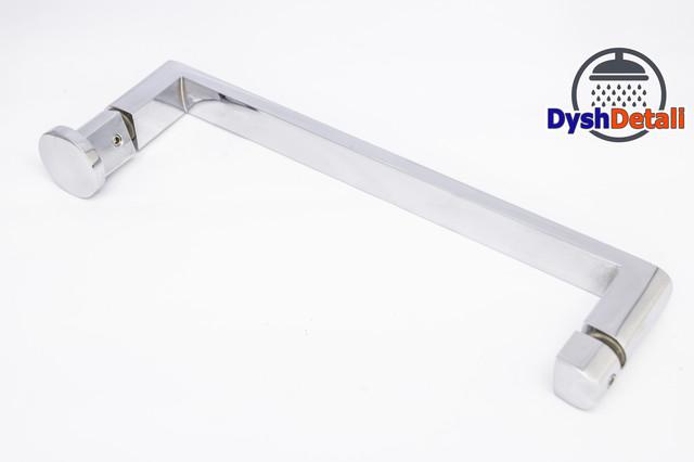 Ручка для дверей душевой кабины на два отверстия ( H-632 ) Метал