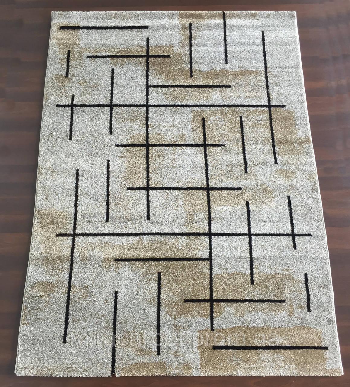 Турецкий серо-коричневый ковер