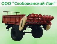 🇺Разбрасыватель удобрений, Машина для внесения (разбрасывания) твердых органических удобрений МТО-4