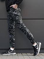 Мужские штаны джоггеры  beZet Zipp camo '18