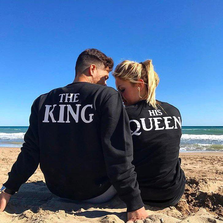 Свитшоты his king, his queen
