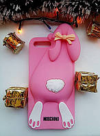 Силиконовый чехол Moschino Violetta Rabbit iPhone 7 Plus