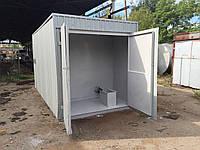 АБП 8 куб. м - контейнерный топливный модуль 8 000 литров после капитального ремонта с гарантией (БУ Мини АЗС)