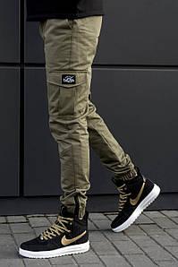Мужские штаны карго beZet Zipp Khaki '18