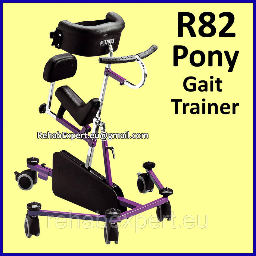 Б/У Ходунки Для науки хождения детей с ДЦП R82 Pony Special Needs Gait Trainer Size 2